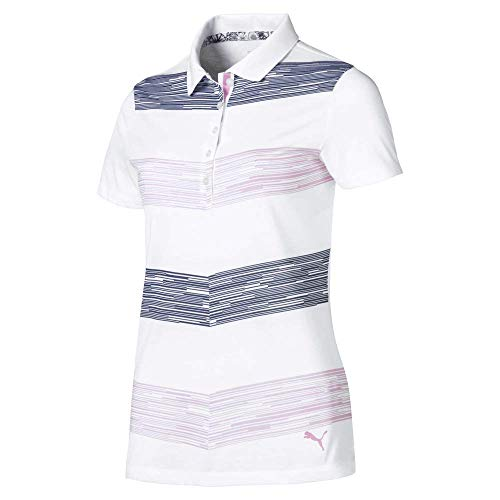 PUMA 2019 Race Day Polo, Pale Pink, XS para Mujer